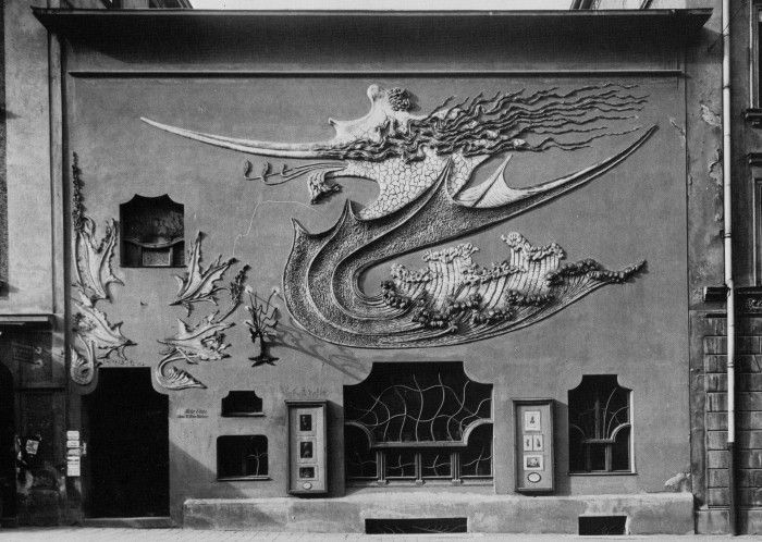 1896 studio fotograficzne Elvira w Monachium August Endell