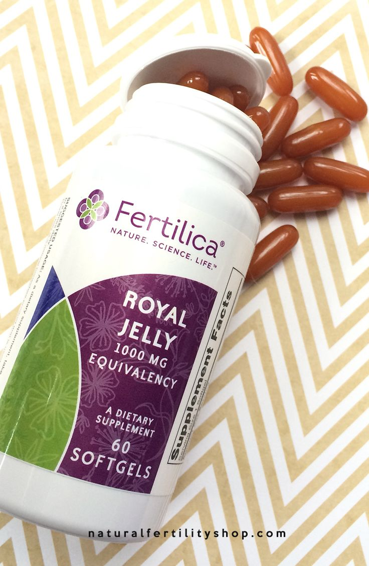 Fertilica Royal Jelly is a creamy substance produced by bees which is fed to the…