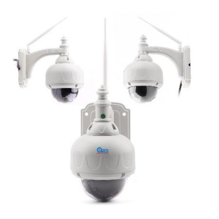 Coolcam NIP-031OAM 3.6mm M-JPEG 300k Pixels Wireless P2P IP Camera