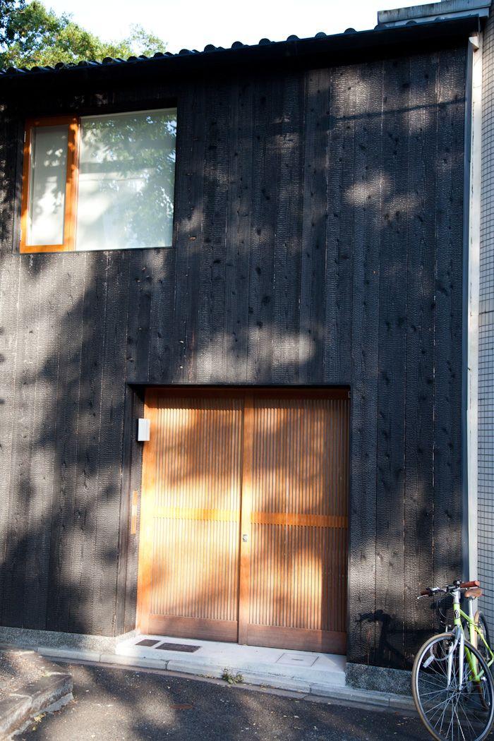 Japan Charred Cedar Bike My Black House Pinterest