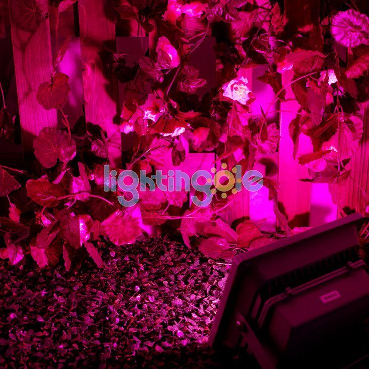 30w Hydroponic Plant Flood Led Grow Lights Bulb Lamp