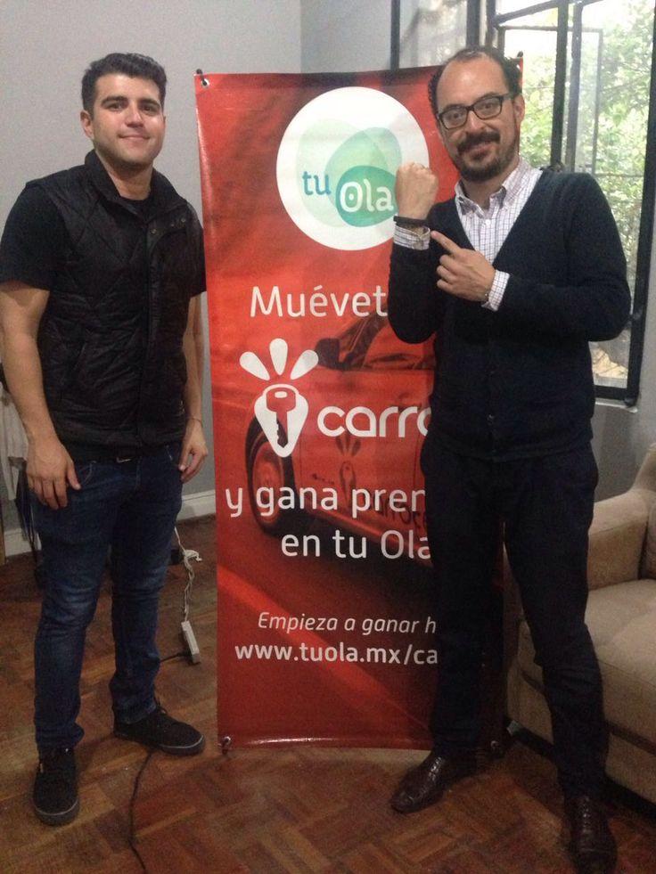 ¡Felicidades Mario! Ganador de la pulsera monitor de actividad Muévete Más y Mejor con Carrot #nuevasformas