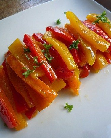 Рецепт перца маринованного с медом проверен годами:Рецепт из расчета на 50 шт…