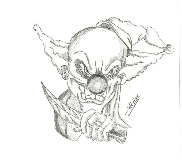 Coringa 157 Desenho Palhacos 157 Desenho Desenhos Assustadores