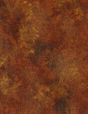 Autumn Splendor-harvest Metallics By Timeless Treasures - Shimmer Rust