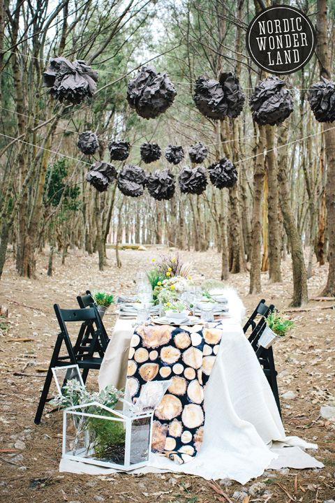 ikea nordic wonderland ikea lovely wedding magazine styling woods