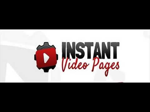 Get Instant Video Pages