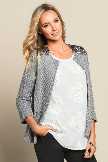 Buy Monsoon Arabella Cover Up Jacket | Shop Jackets & Vests Womenswear at the BrandStore EziBuy NZ