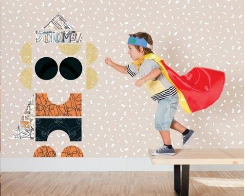 26 best images about decorar con papel pintado on - Habitaciones con papel pintado ...