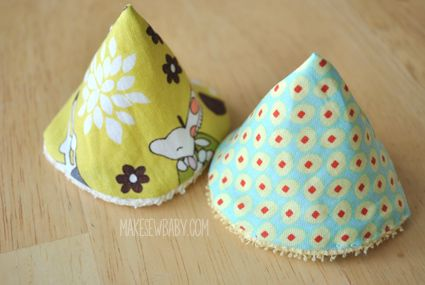 Sew easy to make! Say goodbye to pee soaked shirts and changing tables. Make your own peepee teepees!