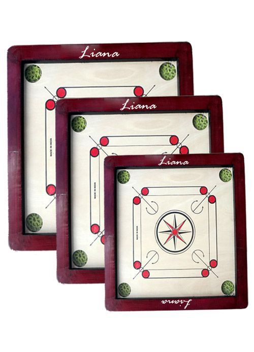 Liana Launch 20 x 20 Small Carrom Board for Children at www.sabmilegaonline.com at Rs 399 Only .