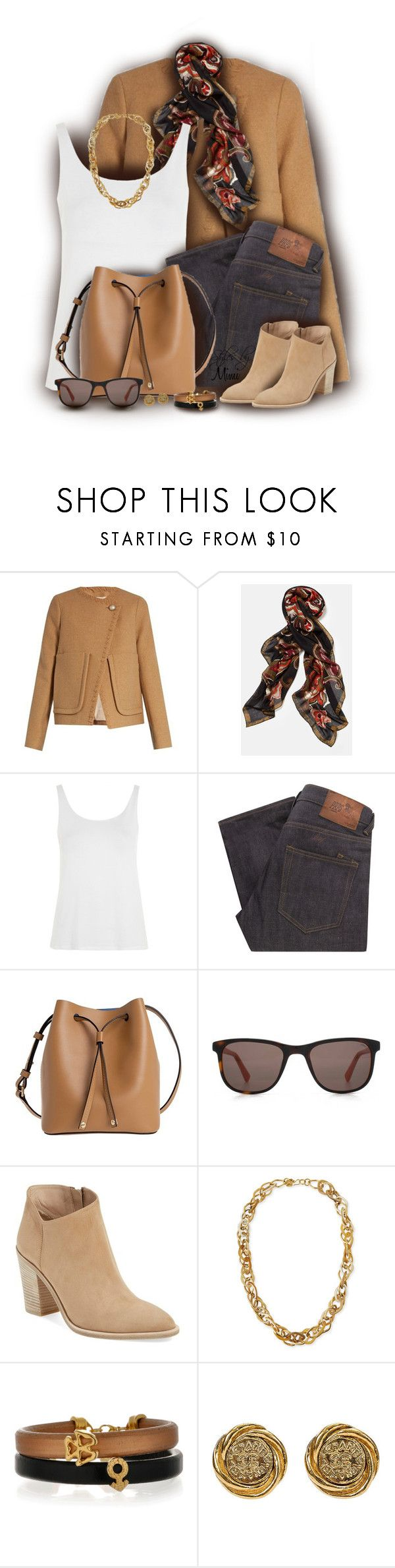 """Falling for Neutrals (12.3.16)"" by stylesbymimi ❤ liked on Polyvore featuring See by Chloé, Lafayette 148 New York, Topshop, PRPS, Lodis, HOOK LDN, Vince and Ashley Pittman"