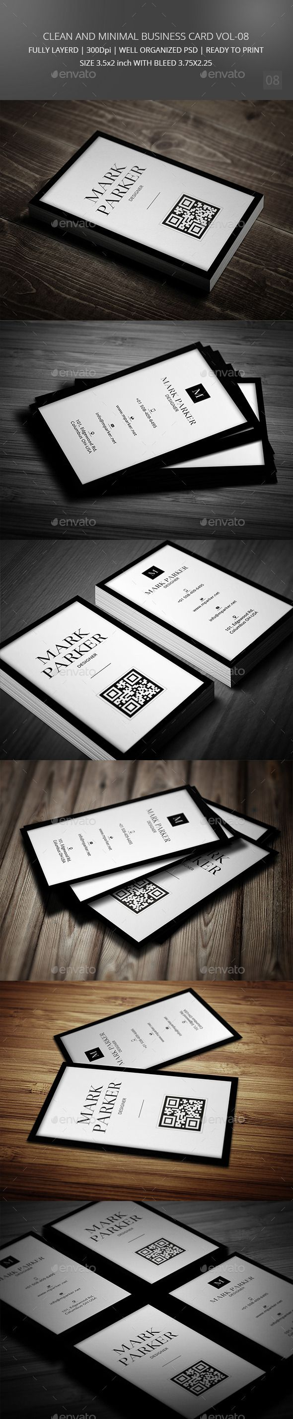 The 25 best minimal business card ideas on pinterest black clean and minimal business card template psd buy and download http reheart Images