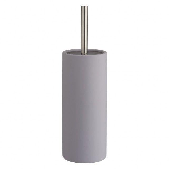 Habitat LIMA grey toilet brush and holder - £20