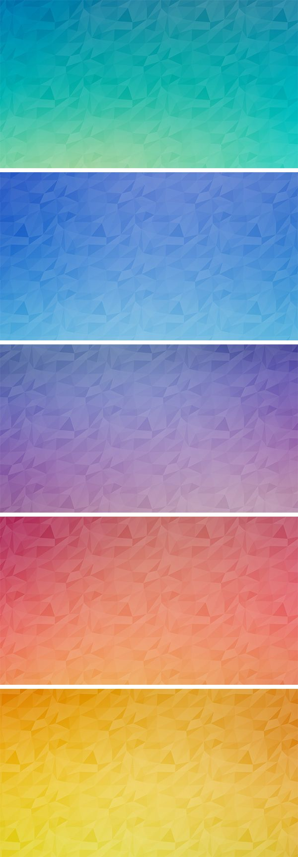 Seamless Polygon Backgrounds Vol.2