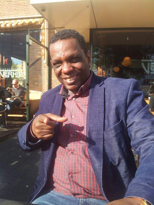 Tv-kok Hubert van het programma Smullen met Hubert. Te zien op OPEN Rotterdam.