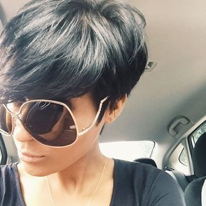 When you think you want to go natural...and then you see a boss haircut...@kyrzayda_