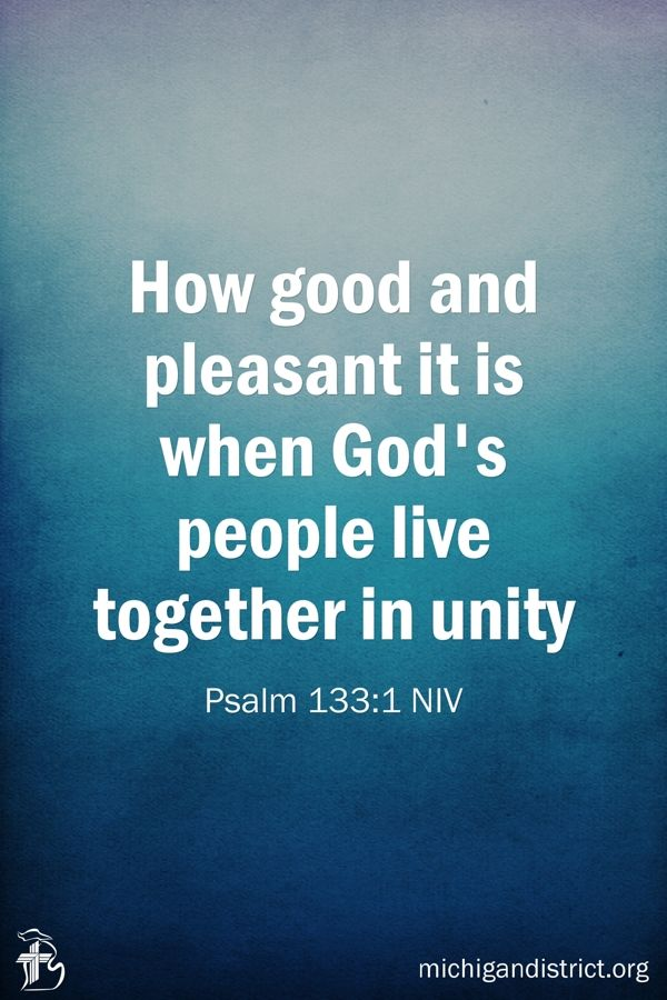 christian single men in pleasant unity The purpose of men's ministry: how good and pleasant it is for brethren to dwell together in unity (psalms 133:1) it is the goal of the men's ministry to provide opportunities for fellowship and service for men of all ages.