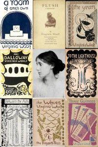 Virginia Woolf's Best-Selling Books. #virginiawoolf