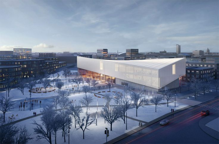 located in riga, one of the seven dynamic proposals will become a cultural and arts center as well as a beacon of national significance in latvia.