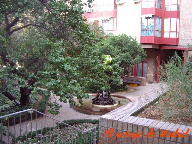 el paisaje de Madrid: El desaparecido Convento del Sacramento. II El huerto de las monjas en Madrid http://elpaisajedemadrid.blogspot.com.es/2014/04/el-desaparecido-convento-del-sacramento.html