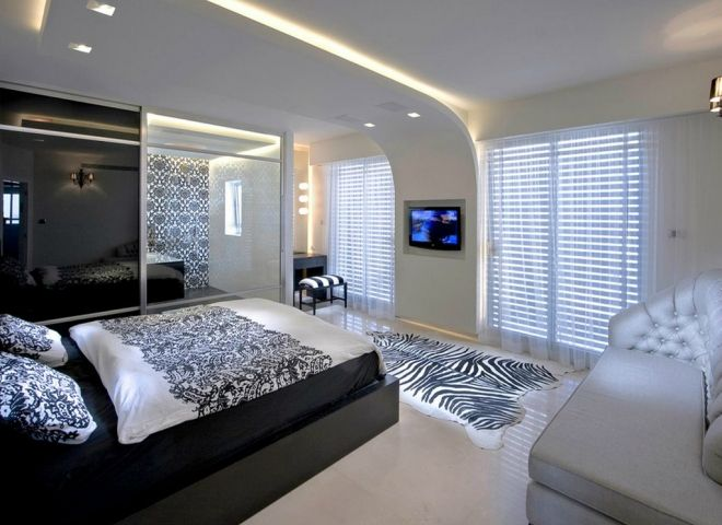 6-Innovative-ceiling-design-gives-this-minimalist-bedroom-a-futuristic-feel-1