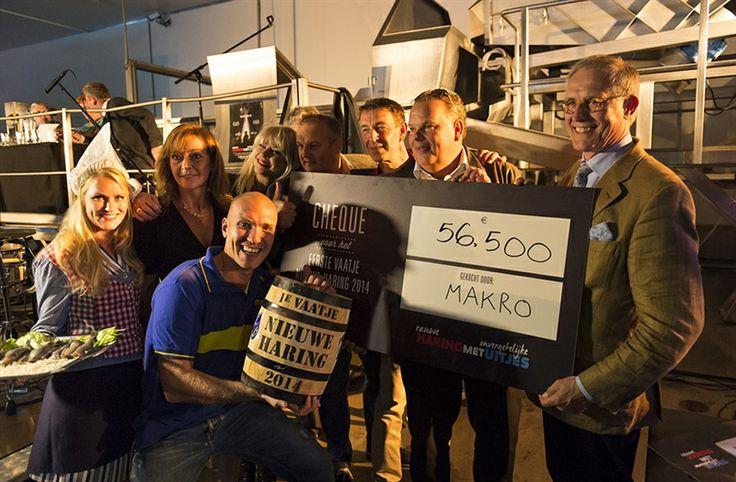Mooie vangst voor Bio Vakantieoord.  Makro koopt eerste vaatje Hollandse nieuwe voor €56.500. De opbrengst gaat naar het Bio Vakantieoord. http://www.stichtingbio.nl/over-bio/nieuws/id/311/mooie-vangst-bio-vakantieoord