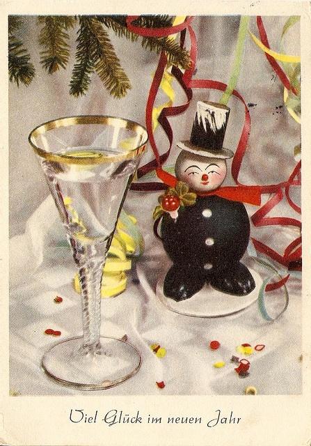 Vintage neues Jahr s