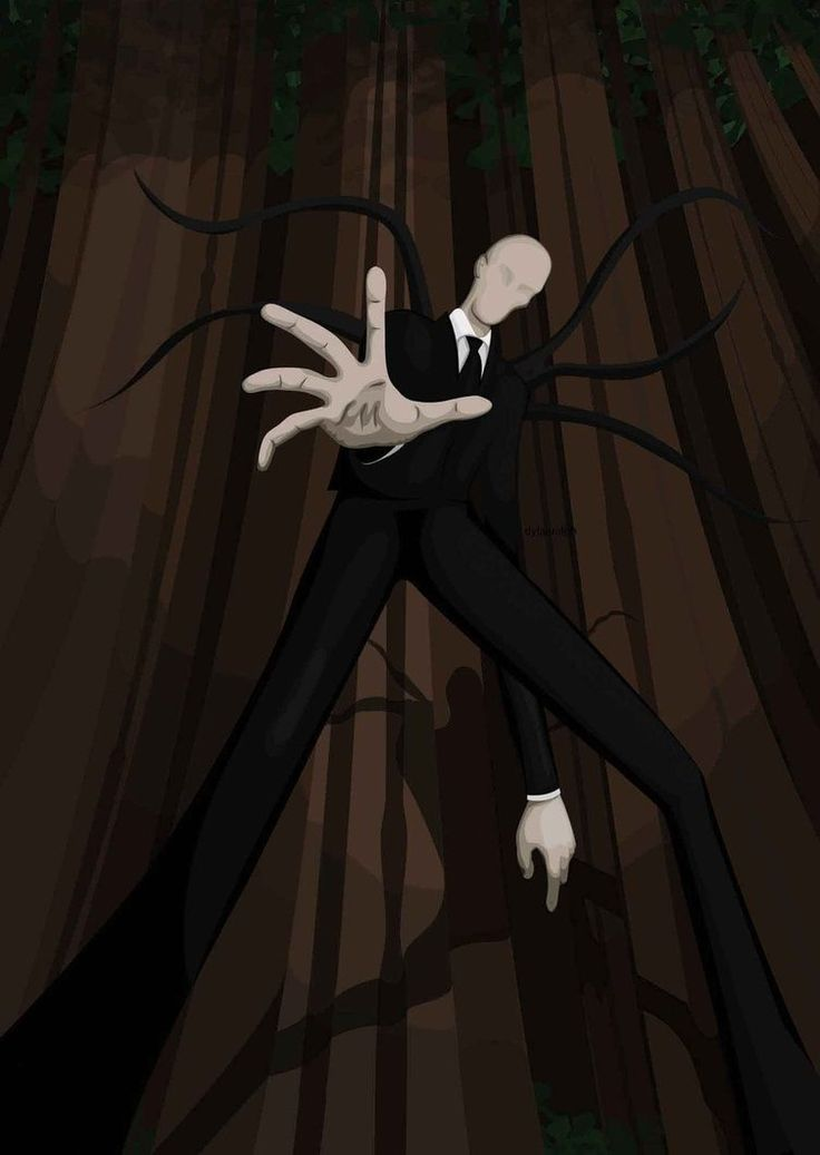 slender man | Slender Man - Monster Wiki - a reason to leave the closet closed and ...