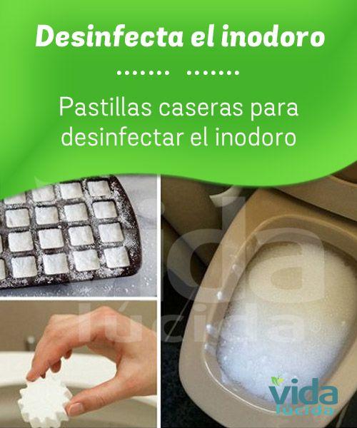 Limpiador en pastillas para el inodoro.
