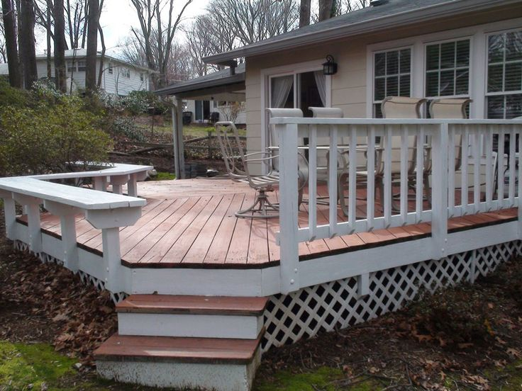 17 best images about deck ideas on pinterest wood decks planters and decks - Wooden balcony design ideas perfect harmony ...