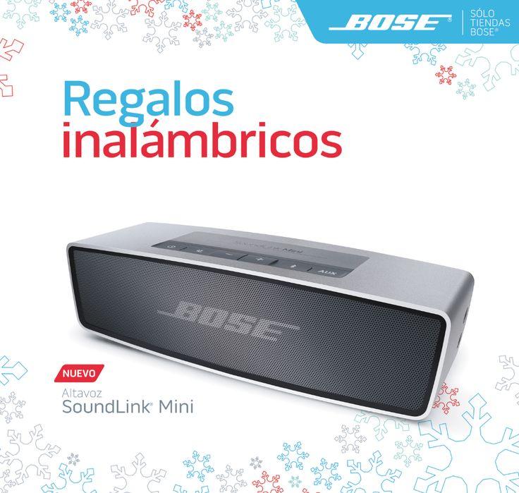 Regalos para Navidad: SoundLink® Mini de Bose®.
