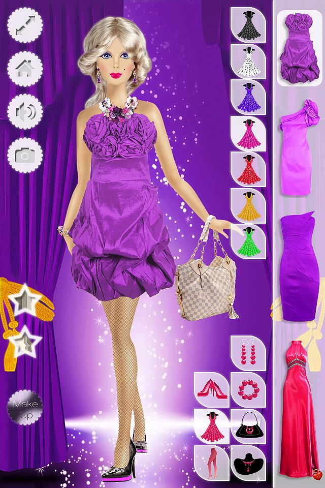 there are huge collection of dress up games like celebrity dress up games, barbie dress up games and Dora dress up games.