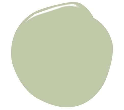 Benjamin Moore®   Natura® Paint  Kittery Point Green (this is the existing color of the sunroom from the previous homeowners, and we're sticking with it for now)