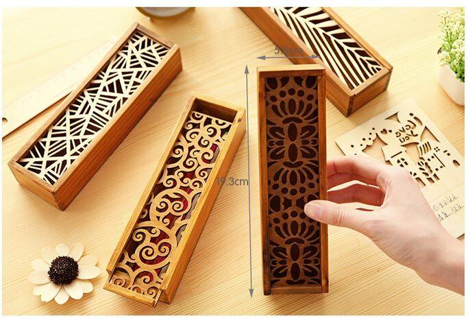 caja de madera para lapices - Buscar con Google