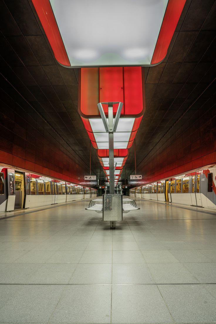 Hamburg Foto U-Bahn Hafencity Universität | Bildschönes Hamburg