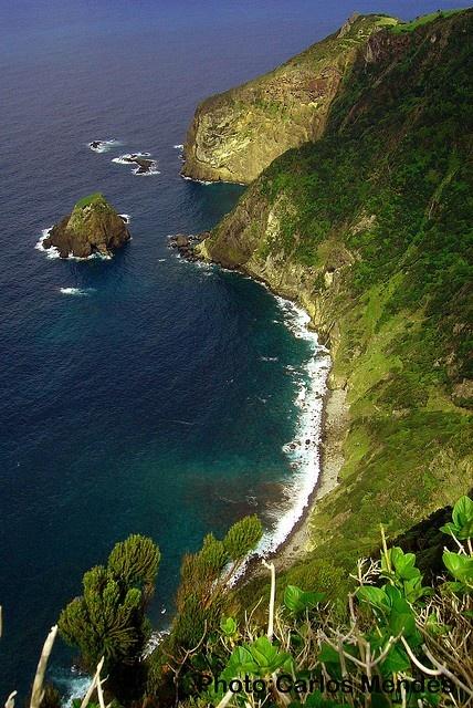 Fajã da Gata (ilha das Flores), Flores Island, Azores, Portugal