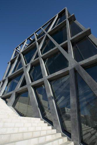 Le Pavillon Noir, Centre Chorégraphique National, Aix-en-Provence, France by Rudy Ricciotti Architectes