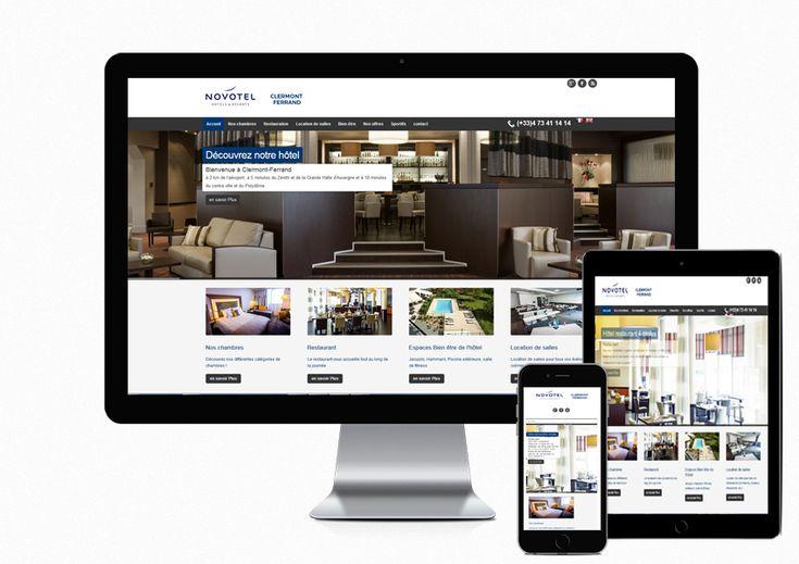 Création des sites internet des hôtels du groupement IECH à #ClermonFerrand #Deauville #Rouen #Bruxelles #Luxembourg #LeHavre #Lille http://www.air-media29.com/hotels-iech.html