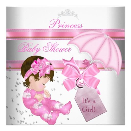 20 Best Girly Baby Shower Invitations Images On Pinterest Baby