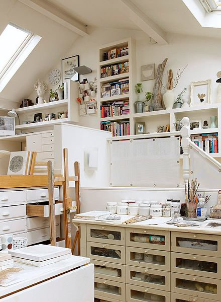 Perfection! Share your favorite craft spaces with the Annie's Facebook family: https://www.facebook.com/AnniesCatalog