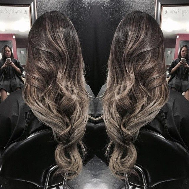 balayage ombre ash brown hairstyles pinterest ash. Black Bedroom Furniture Sets. Home Design Ideas