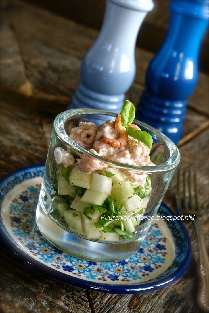 Mandy antwoordt (4) + recept: venkelsalade met Noordzee garnalen