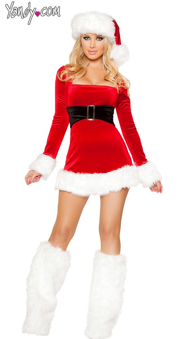 Best sexy mrs clause outfits images on pinterest