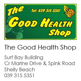The Good Health Shop Shelly Beach South Coast. Looking for expert health and nutrition advice? The Good health shop is the place to go!