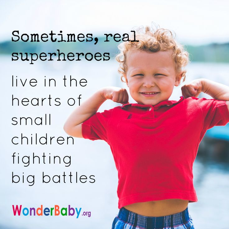 sometimes real superheroes live in the hearts of small children fighting big battles - Pics Of Small Children