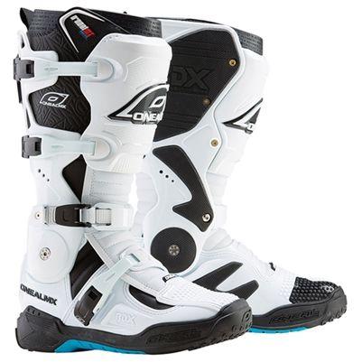 O'Neal #RDX Dirt Bike #Boots White