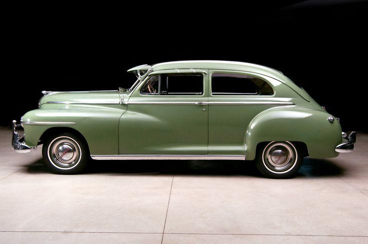 1948 dodge deluxe 2 door sedan auto ancienne pinterest for 1948 plymouth 4 door sedan