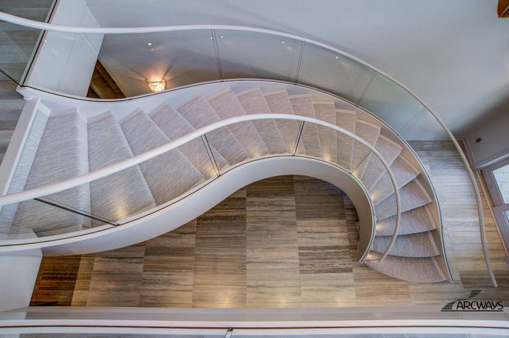 Best S Shaped Staircase Curved Stairs Curved Staircase 640 x 480
