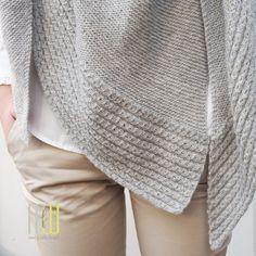 Dreieckstuch stricken – Erna ist online
